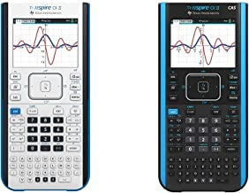 $261 » Texas Instruments TI-Nspire CX II Color Graphing Calculator with Student Software (PC/Mac) & TI-Nspire CX II CAS Color Gra...