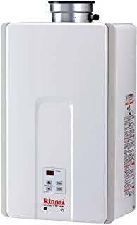 Rinnai V75iP Tankless Hot Water Heater, Large, V75iP-Propane/7.5 GPM