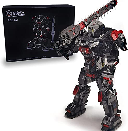high quality Nifeliz Mecha MU-2 Building Kit and Engineering Toy, discount Construction Set to Build, Model Set and outlet sale Assembly Toy for Teens and Adult (2885 Pcs) outlet sale