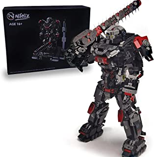 Nifeliz Mecha MU-2 Building Kit and Engineering Toy, Construction Set to Build, Model Set and Assembly Toy for Teens and A...