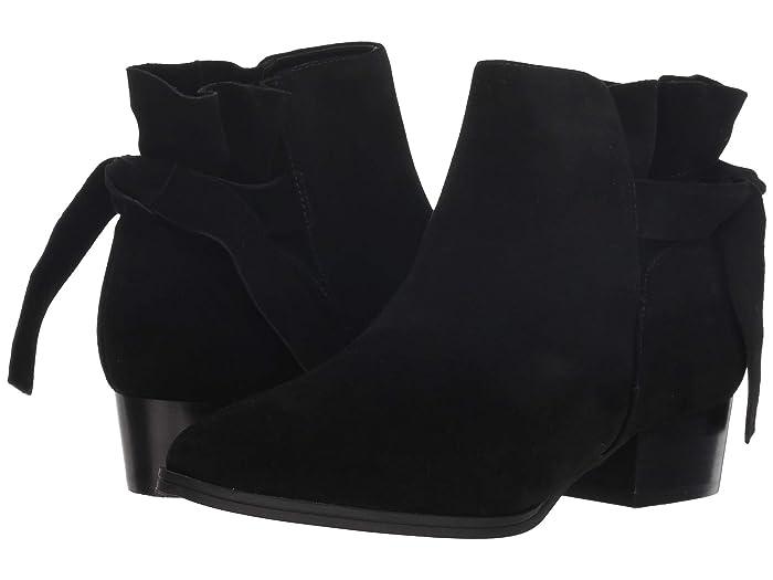 Aerosoles  Crosswalk (Black Suede) Womens Zip Boots