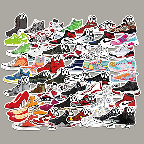 YCYY 84 Tide Brand Shoes Doodle Sticker Suitcase Lever Box Laptop Scooter Car Decorative Sticker