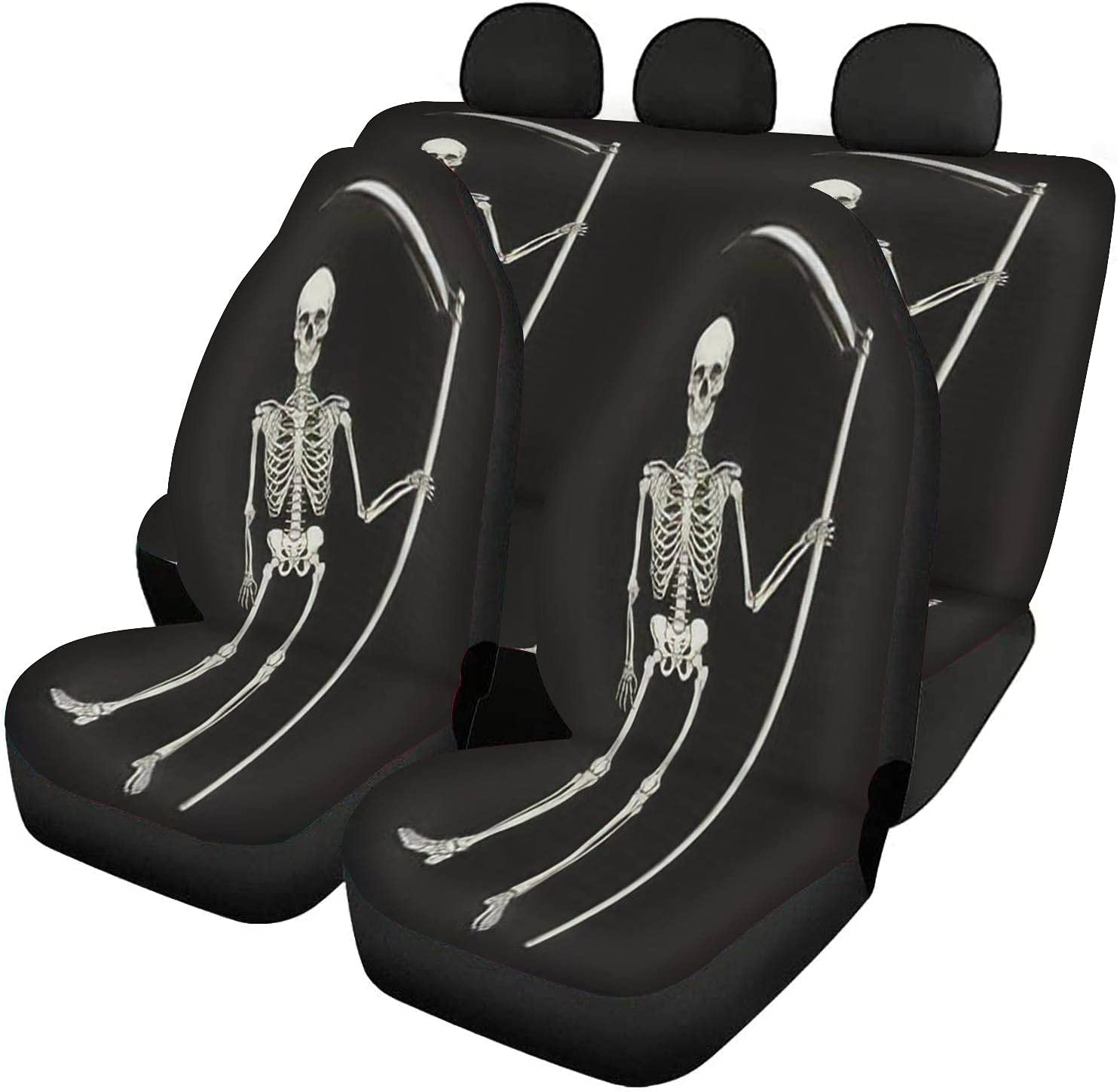 GDSJEGQM Car Seat Covers Full Set Grim Scythe with 40% OFF Cheap Sale Reaper The - Sales for sale