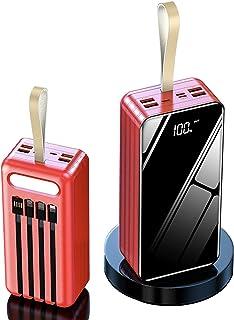 Bärbar batteriladdare, 100000Mah USB enorm kapacitet Power Bank, externt batteripaket som kan snabbladda 7 enheter samtidi...