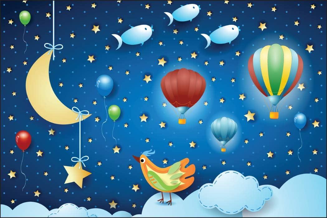 Licornes et Danseuses de Ballet Vinyle D/écoratif Enfant Jeu 1260972772 Muralo Papier Peint Enfant