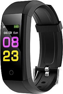 GeeRic Smart Watches 115Pro, Vrouw Man Gezondheid en Fitness Smartwatch Basic Smartwatch Compatibel met Android en iOS Tel...