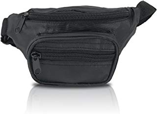 Nineteen80something Fanny Pack For Children/Kids Size Waist Bag/For Boys, Girls, Toddlers And Babies (Black)