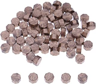 1989candy 100Pcs/Lot Vintage Sealing Wax Tablet Pill Beads For Envelope Wax Seal Bronze