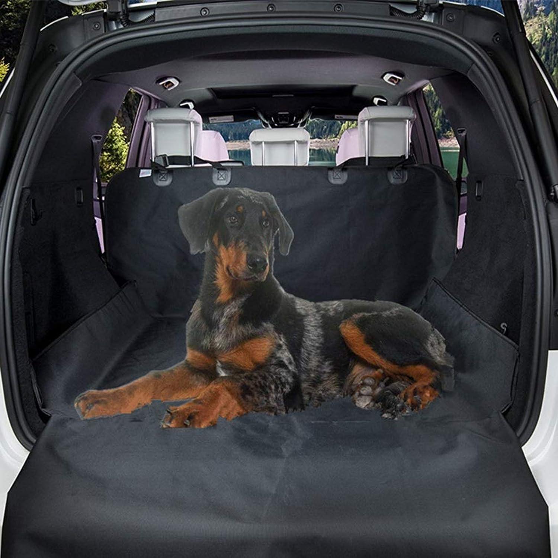 Car Pet Mat, Dog Supplies Pet Car Mat Single Layer 600D Oxford Cloth Car Trunk Pet (color   Black, Size   208  132CM)