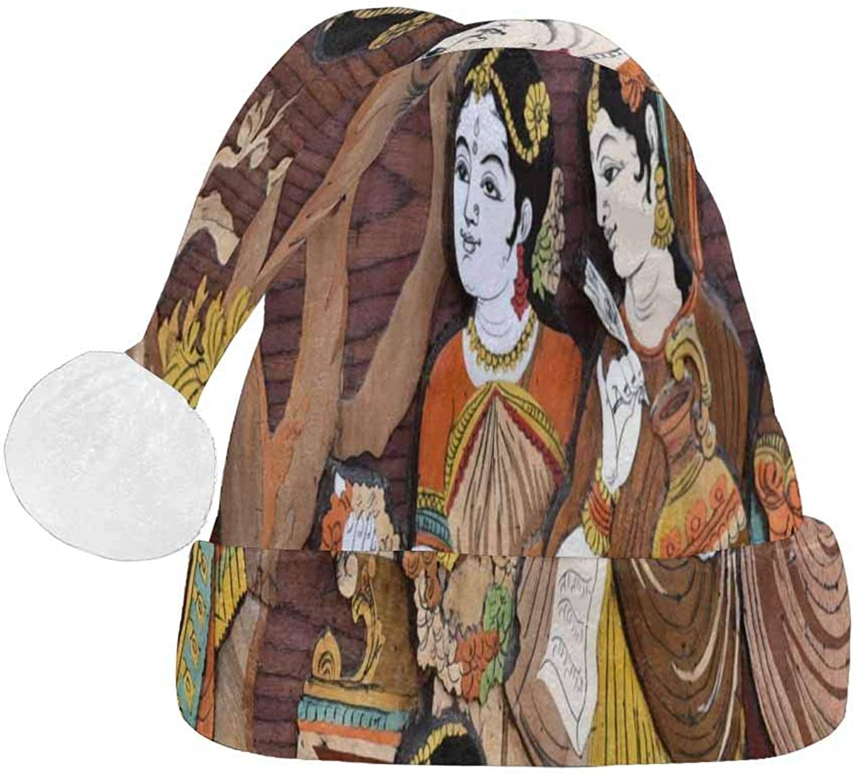 InterestPrint Christmas Santa Hat Adults famous Fashion Design for 2021
