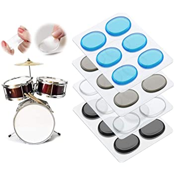 Rtom Moongel Almohadillas de amortiguador, Pack de 6: Amazon.es: Instrumentos musicales