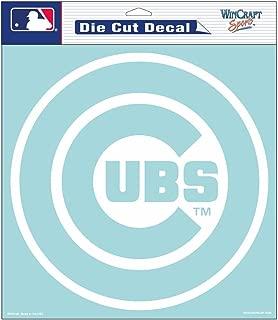 WinCraft MLB Chicago Cubs Die-Cut Decal, 8
