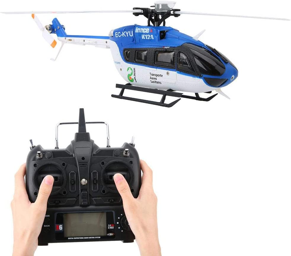 Focket RC Helicopter, Gyro, and 3D/6G Mini Helicopter