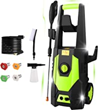 mrliance 3600PSI Electric Pressure Washer 2.4GPM Power Washer 1800W High Pressure Cleaner Machine with 4 Nozzles,Hose Reel...