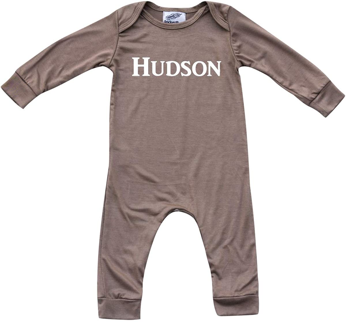 Personalized Custom Max 62% OFF Silky Long Romper Baby Max 76% OFF Sleeve