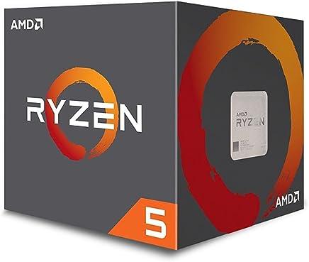 AMD YD1400BBAEBOX - Procesador Ryzen 5 1400, 3.2Ghz/3.4GHz Turbo, 4 núcleos, 8 hilos, 8MB Caché L3, Socket AM4, 65W, Incluye disipador Wraith Stealth