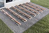 Wolfcraft 6987000 20 Auflage-Pads für Terrassenbau - 3