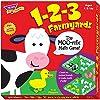 トレンド 英単語 カードゲーム 1-2-3 農場の動物たちで算数ゲーム Trend 1-2-3 Farmyard Learning Game T-76009