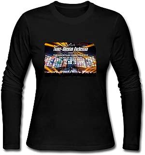 Trans-Siberian Orchestra Tour 2016 Concert Live.png Design Womens Long Sleeve T-Shirts Black