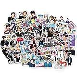 gerFogoo Kpop Bangtan Boys Dynamit-Sticker für Gepäck, Laptop, Skateboard, 132 Stück