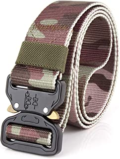 Training Belt Comfortable Elasticity Quick Release Buckle Safety Outer Belt Quick Dry Pure Nylon Belt