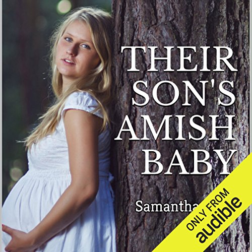 Their Son's Amish Baby audiobook cover art