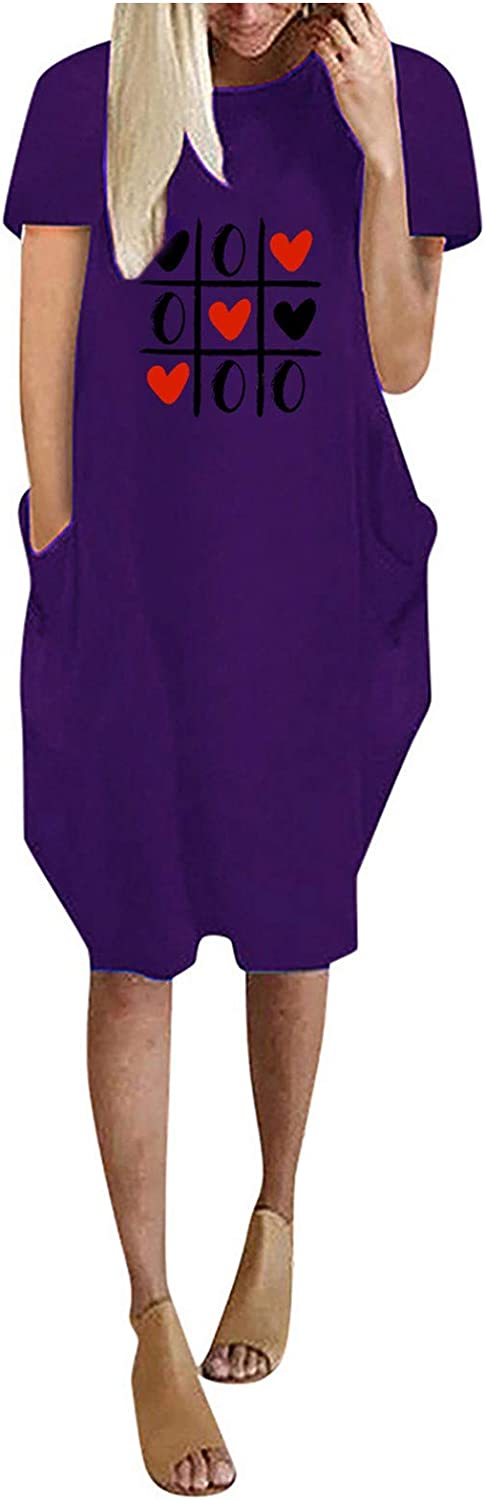 Aritone Plus Size Womens Summer Deluxe Sleeve A surprise price is realized Short T-Shirt Neck Round