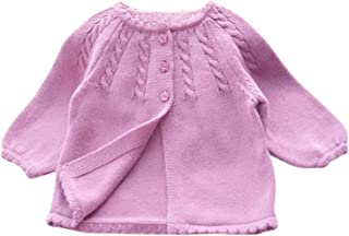 Children Kids Baby Cotton Sweaters Girls Baby Girl Knitted Sweater Outerwear Coat Children Clothes