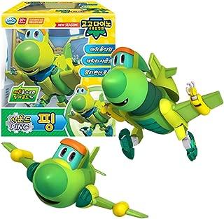 GOGO DINO Dinosaur Expedition Sound Toys Ping Transformation Robot Dinosaur Car Toy