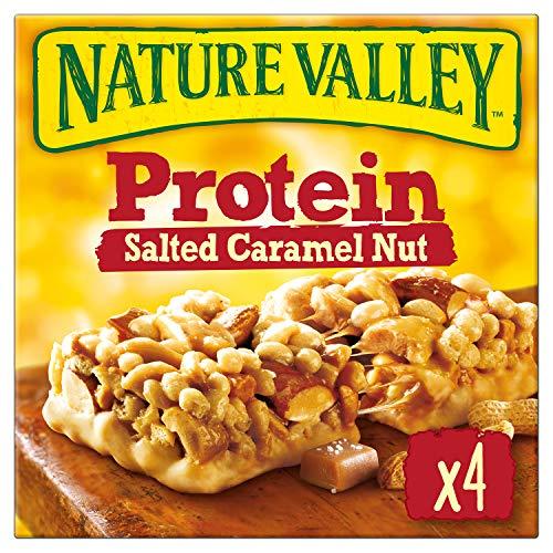 Nature Valley Protein Salted Caramel Nut, 4 Proteinriegel, 160g