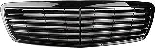 GZYF Glossy Black Front Grill Grille for Mercedes Benz E Class W211 E320 E350 E500 E55 AMG 2002 2003 2004 2005 2006