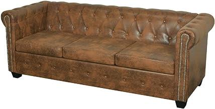 Amazon.es: chesterfield sofa piel