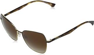 Emporio Armani EA 2095 Matte Brown/Brown Shaded 57/16/140 women Sunglasses