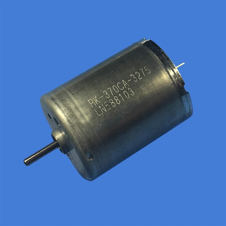 WJN-Motor, 1pcs for Mabuchi RK-370CA-3275 12V CC 27300RPM Alta Velocidad del Cepillo de carbón del Motor de CC for DIY Modelo de Juguete