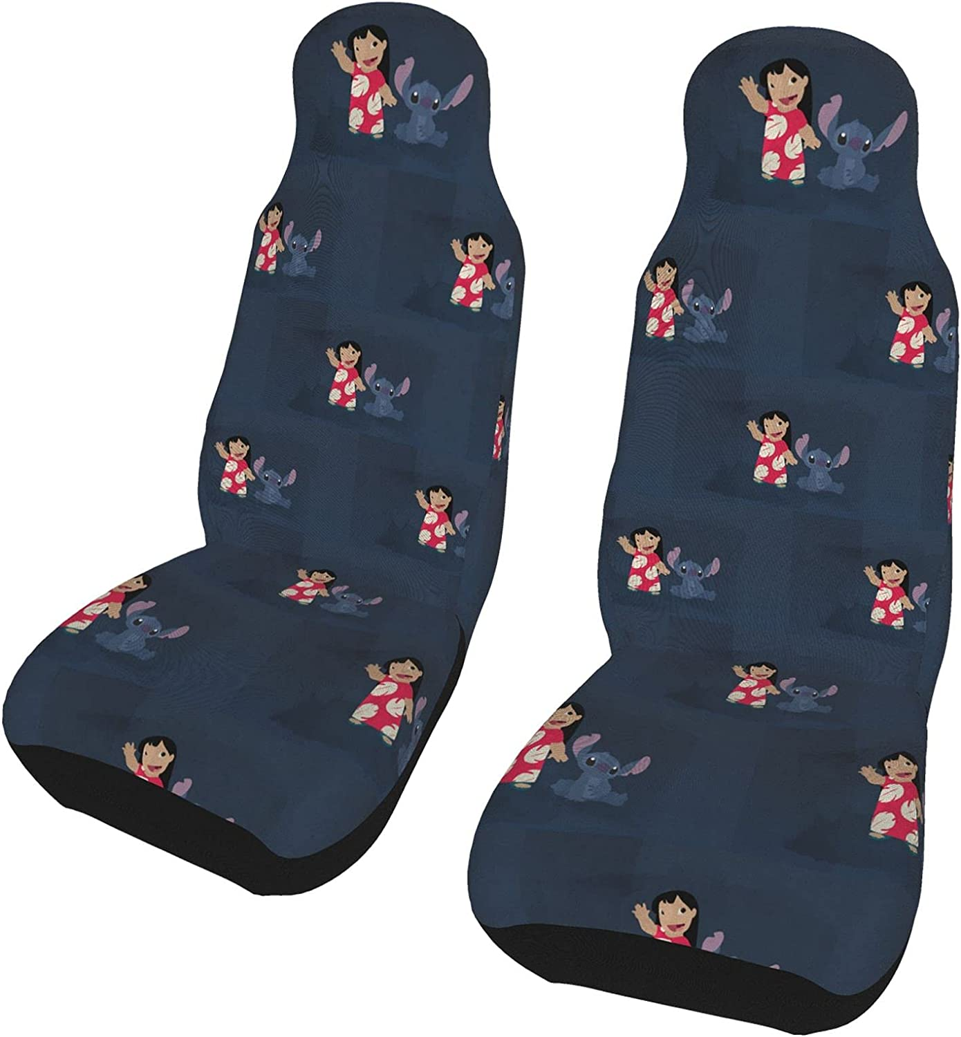 Meojiao Anime Lilo Stitch 2 Pieces Set Cat Covers Challenge Ranking TOP4 the lowest price Seat Accesso