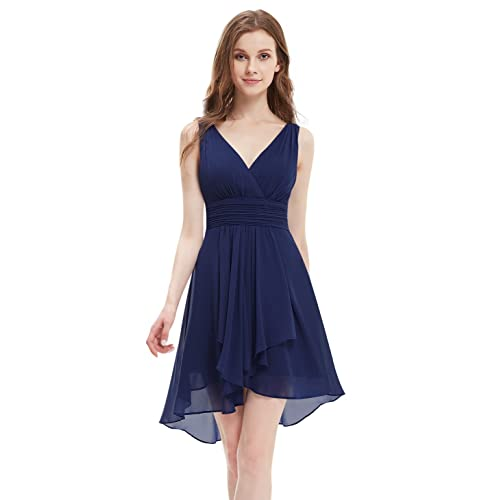 Navy Blue Dress Formal Wedding Guest Amazon Com
