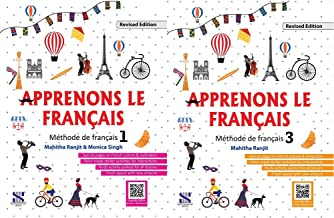 Apprenons Le Francais French Textbook 01: Educational Book + Apprenons Le Francais French Textbook 03: Educational Book (S...