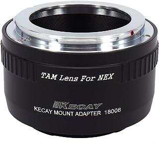 KECAY® TAMRON Objektiv Adapter Ring für Sony NEX E-Mount Kamera Sony NEX-3 NEX-3C NEX-5 NEX-5C NEX-5N NEX-5R NEX-6 NEX-7 N...