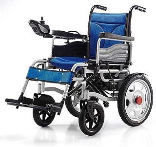 Sillas de ruedas eléctricas para adultos Silla de ruedas de rehabilitación médica, Silla de ruedas, Accionamiento eléctrico silla de ruedas plegable de peso ligero 34 kg, fuerte y durable for el uso,
