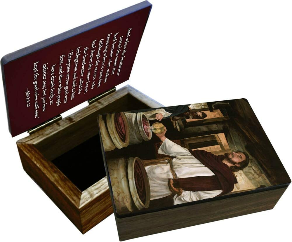 Hail Mary Gifts Manufacturer direct Surprise price delivery Wedding Cana at Keepsake Box