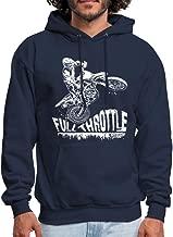 Dirt Biker Full Throttle Motocross MX Men's Hoodie