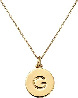 Kate Spade New York Kate Spade Pendants G Pendant Necklace