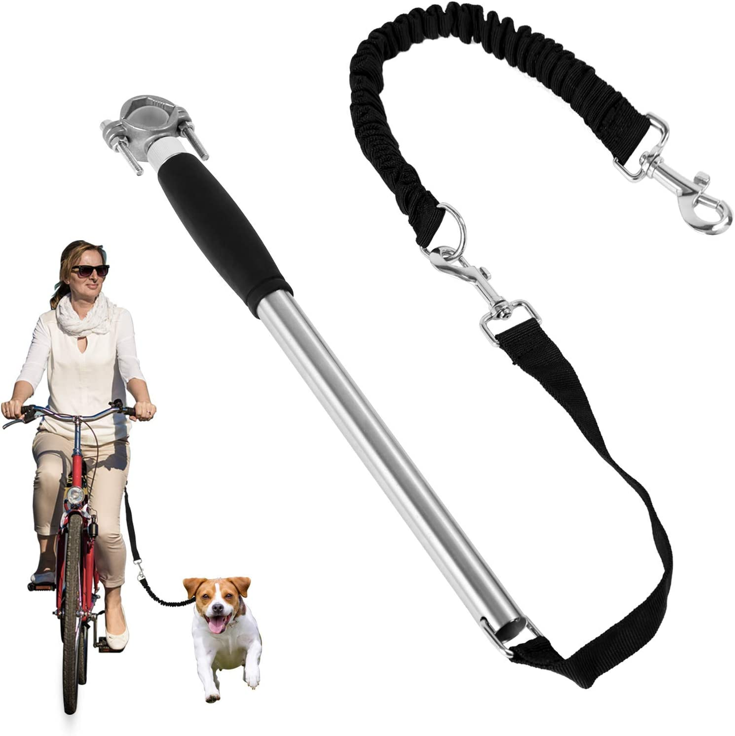 ECOCONUT Dog Bike Leash Bicycle Max 61% Fort Worth Mall OFF Hands Free Leas