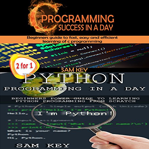 Programming #2: Python Programming In A Day! & C Programming Success in a Day audiobook cover art