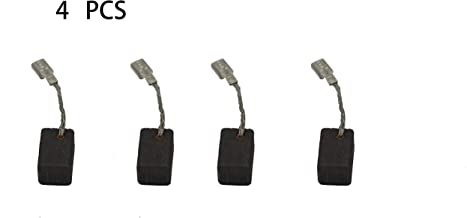 4 PCS Carbon Brushes Compatible for Bosch 1380 Angle Grinder, Brush Replacement Part for Power Tools