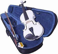 Audiotek Violin Acustico Semiprofesional 4/4 de Madera Fina