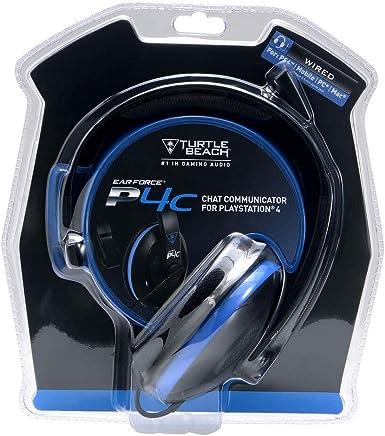 Headset P4C - Preto/Azul - PlayStation 4