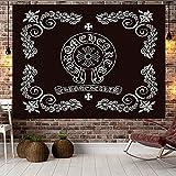 YDyun Tapestry,Colgar en la Pared, Adornos en Blanco y Negro para...