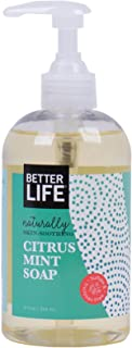 Better Life Natural Hand and Body Soap, Citrus Mint, 12 Ounces, 2424H