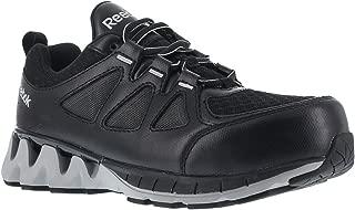 Reebok Women's Zigkick Oxford Athletic Work Shoes Composite Toe Black 10.5 W